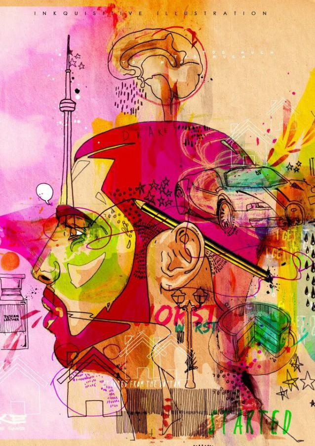 Inkquisitive Illustration   Amandeep Singh   London   Graphic ... Justin Timberlake